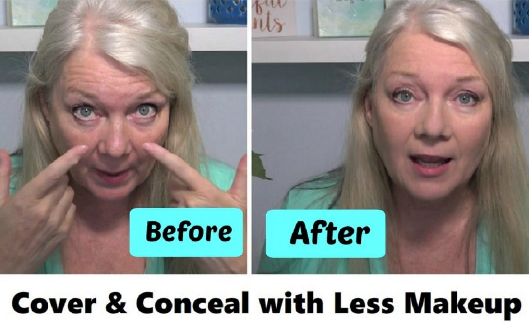 Quick Less-Foundation Makeup Tips for Natural Mature Look