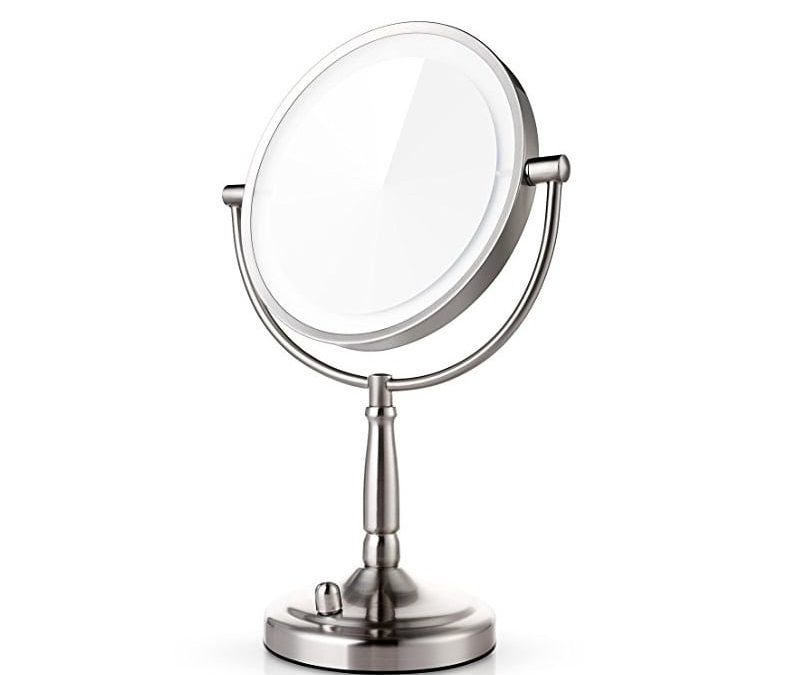 Makeup Mirrors with Magnification & Some with Lights (great for those who wear glasses)