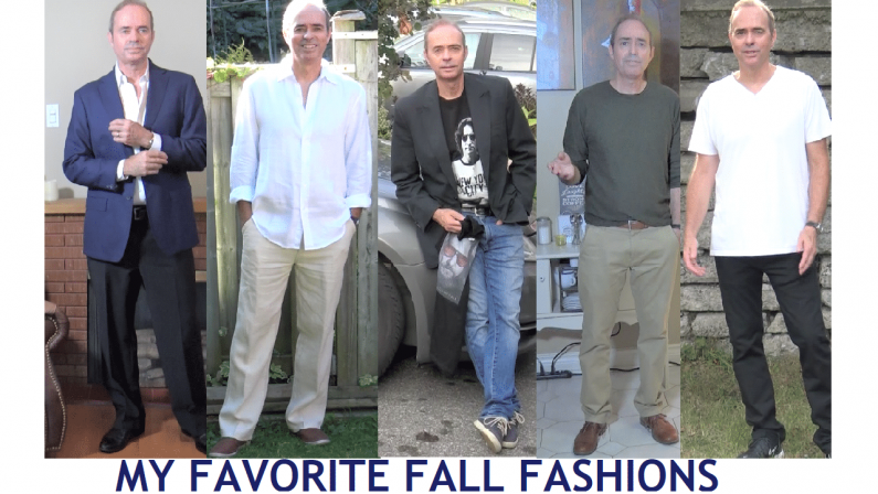 Bill's Top 5 Favorite Outfits for Fall