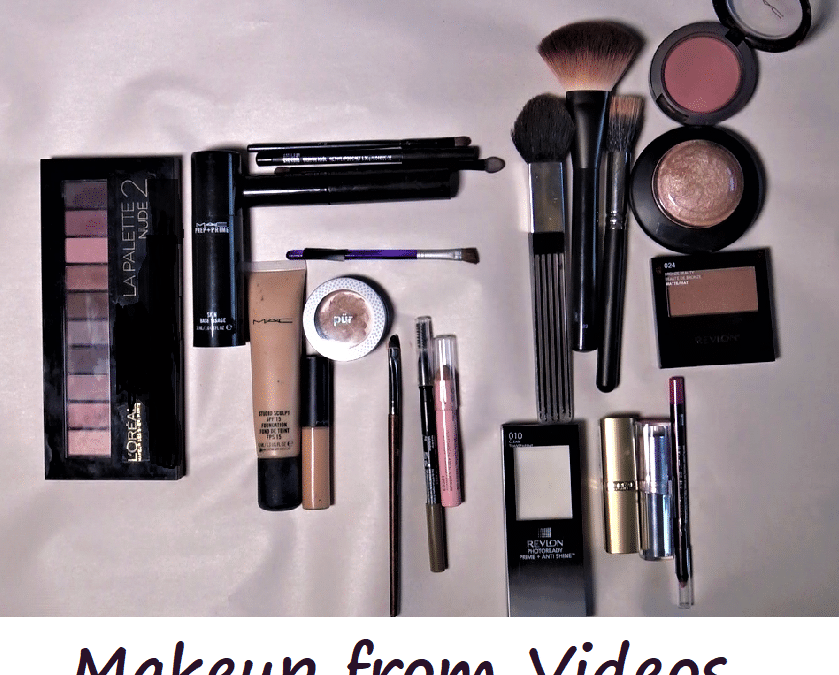 Here's a List of Some of the Makeup I use in my Videos