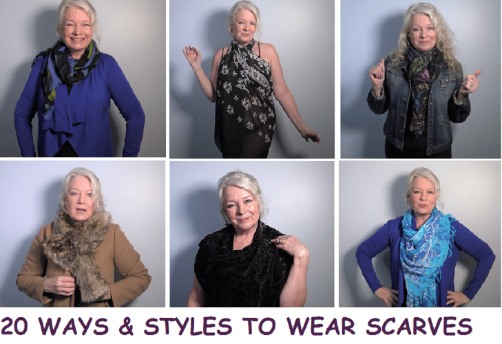 20 Tips, Ties & Styles of Scarves & Where to Find Them