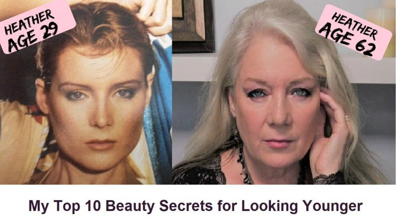Sharing my Top 10 Secrets to Keeping a more Youthful Look
