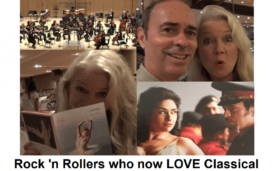 Rock 'n Rollers who now Love Classical Music, The Ballet & Opera