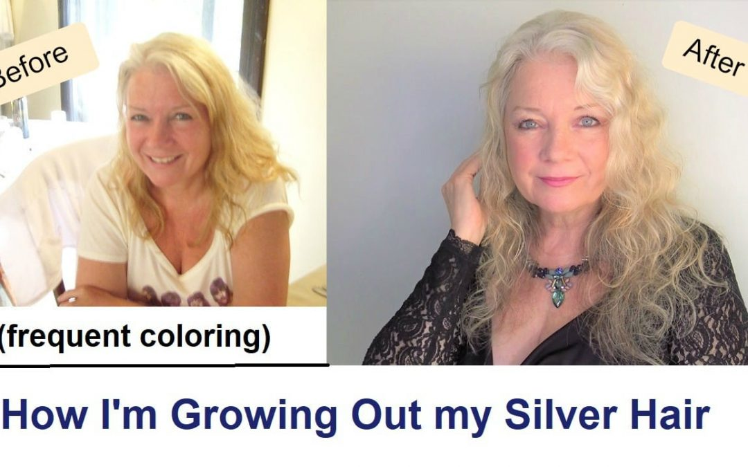 How to Grow Out Your Silver or White Hair