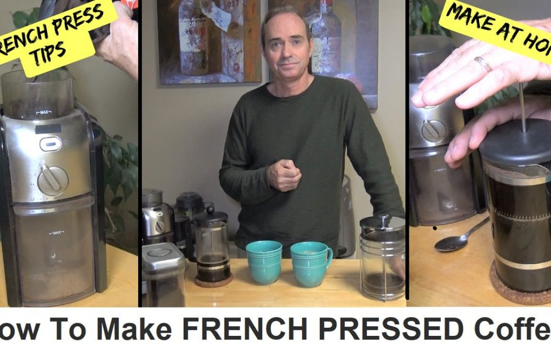 How to make GREAT FRENCH PRESSED Coffee at home