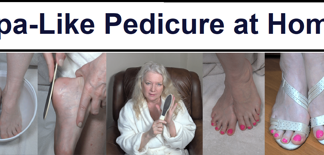 At Home Spa-Like Pedicure for Toes & Feet
