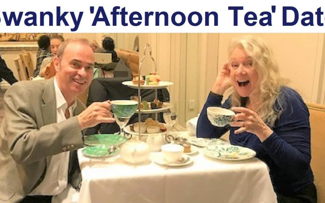 """""""Afternoon Tea"""" Date Day at a Swanky Hotel"""