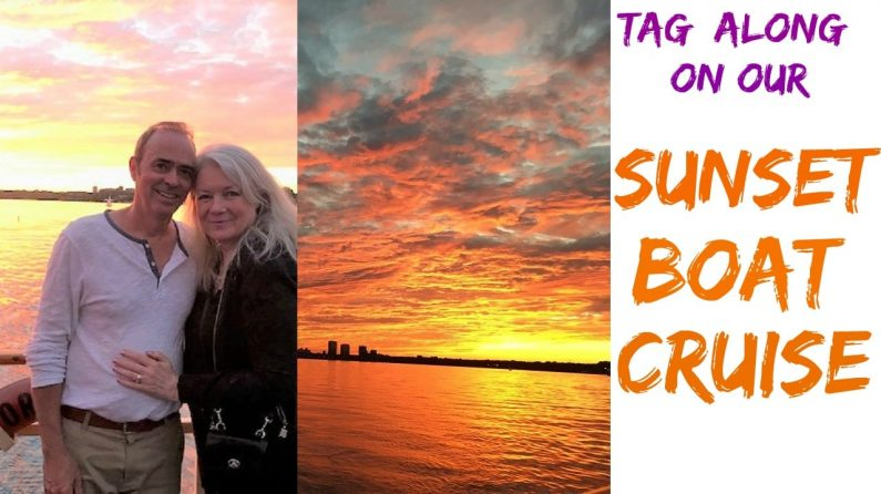 Tag Along on our Sunset Boat Cruise