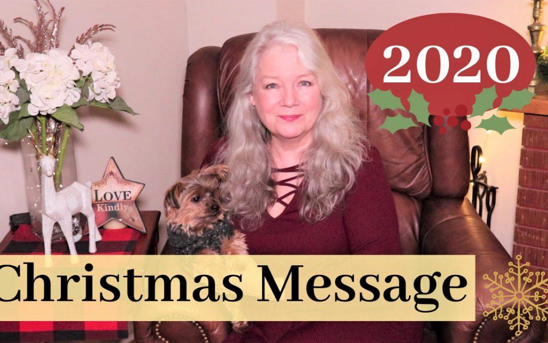My Christmas Message 2020