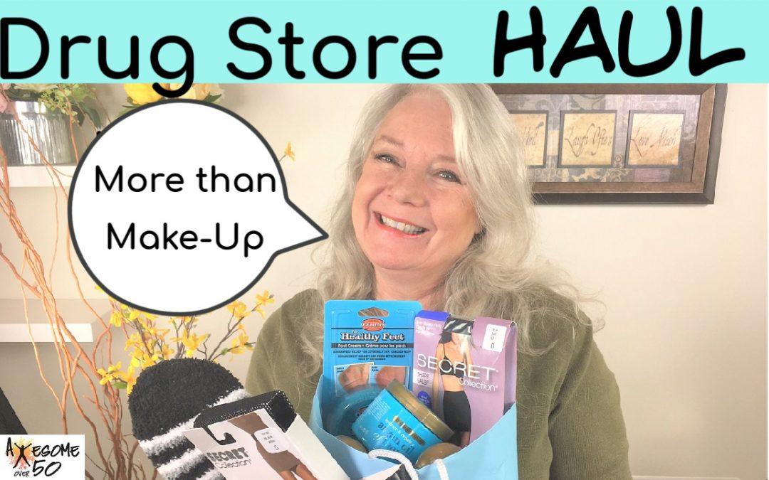 Drug Store Haul, & Not Just Make-Up!