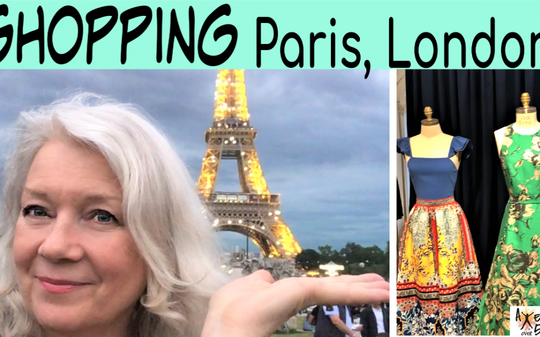 Paris and London Fashion Fun