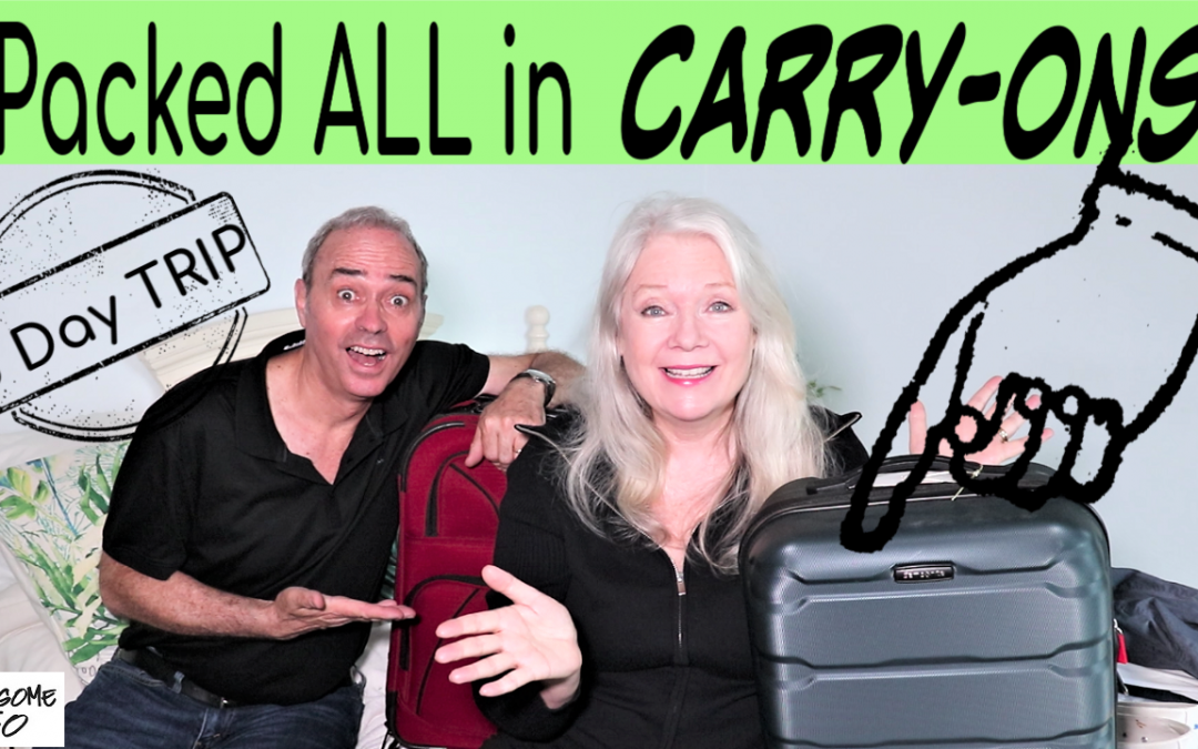 Packed Just Carry-Ons for Paris & London!