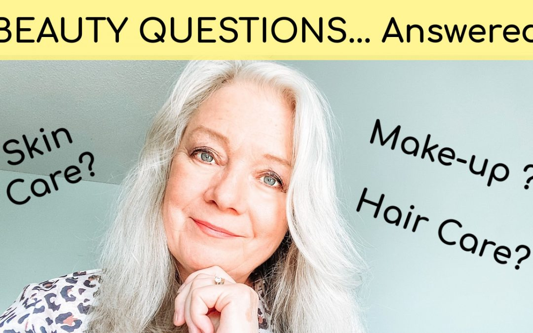 Q & A for Heather… Makeup, Fashion and Hair Care