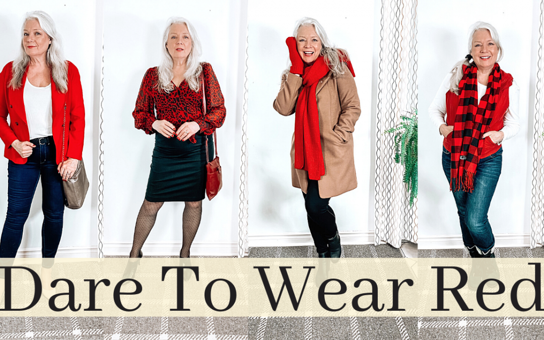 Dare to Wear Red (6 Outfits & Accessories)