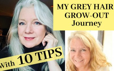 Growing Out & Maintaining Grey Hair, 10 Tips