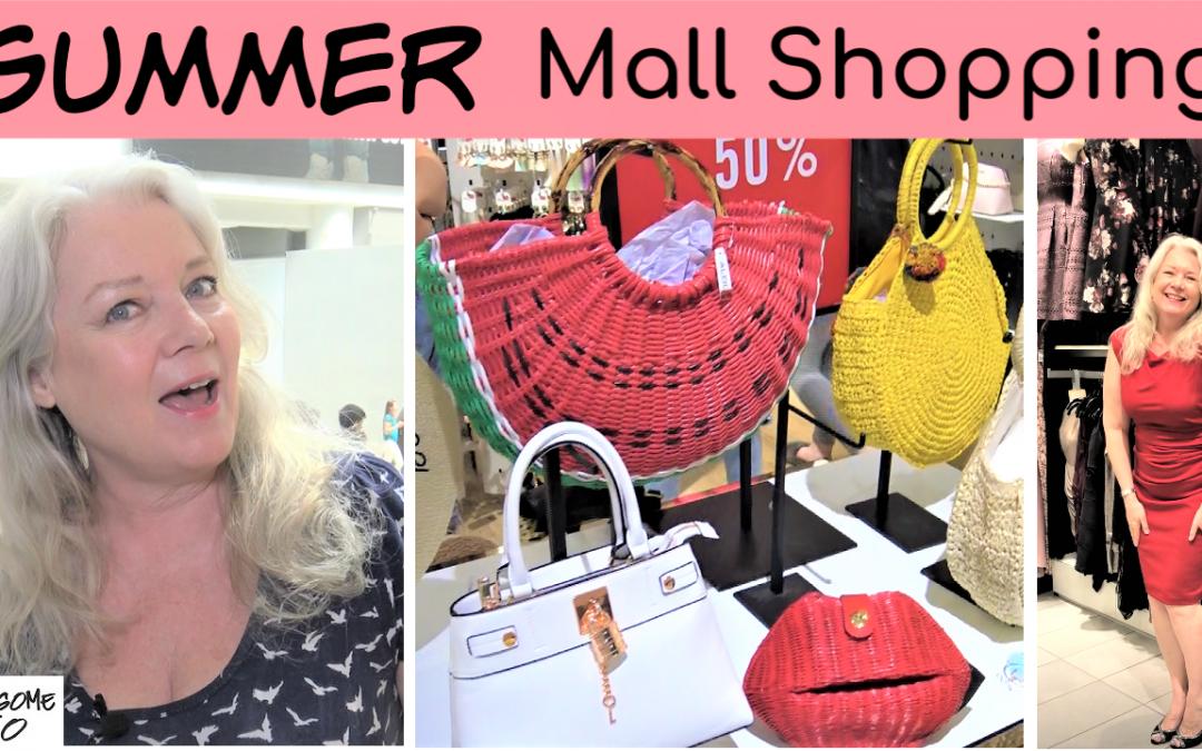 Summer Mall Shopping
