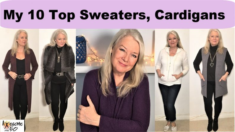 My Top 10 Sweaters & Cardigans