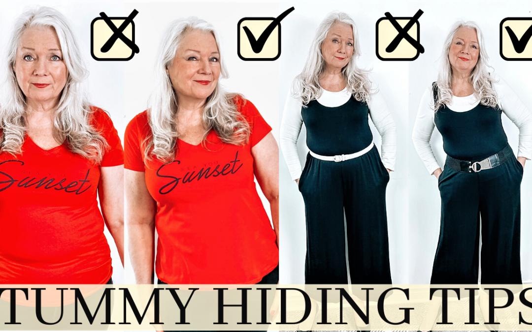 Tummy Hiding Tips & Tricks