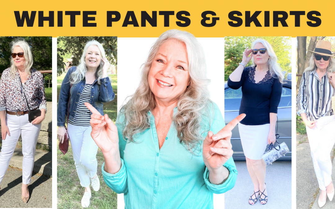 How To Wear White Pants & Skirts 2021