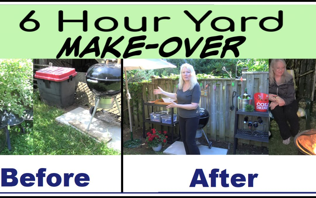 Backyard Makeover in 6 Hours