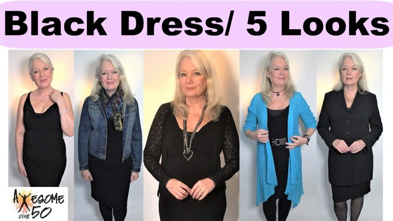 1 Little Black Dress with 5 Looks