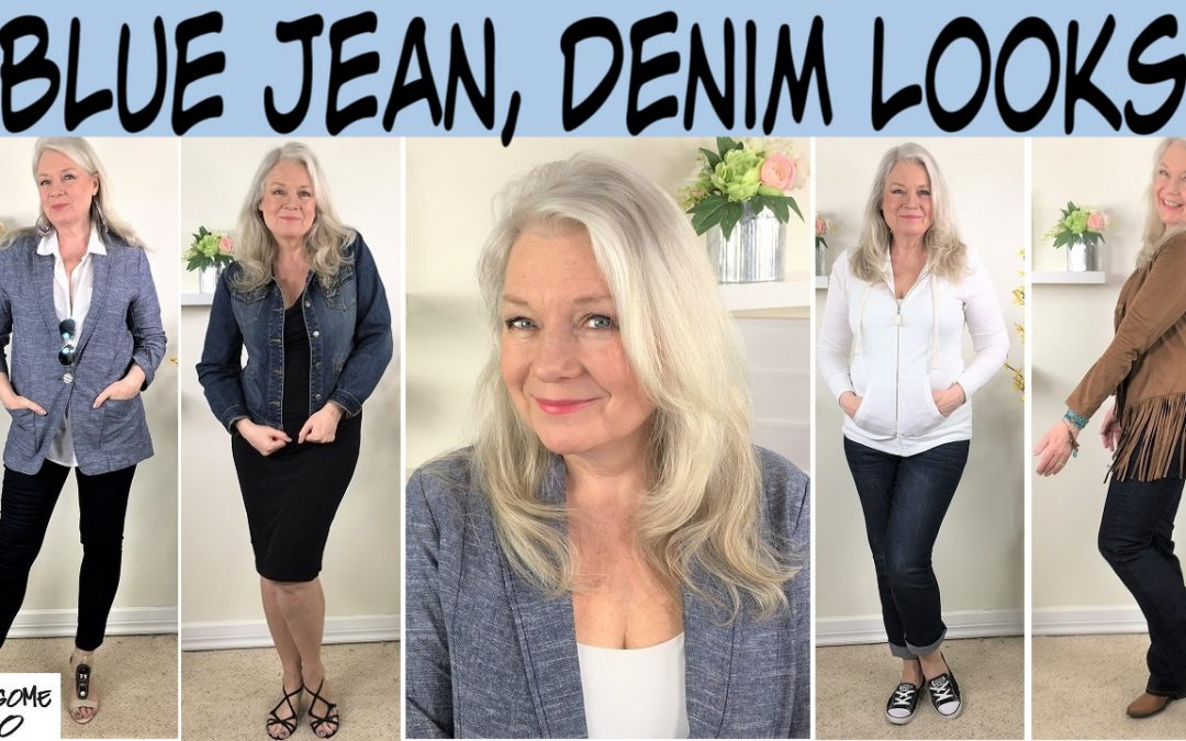Blue Jeans & Denim Looks