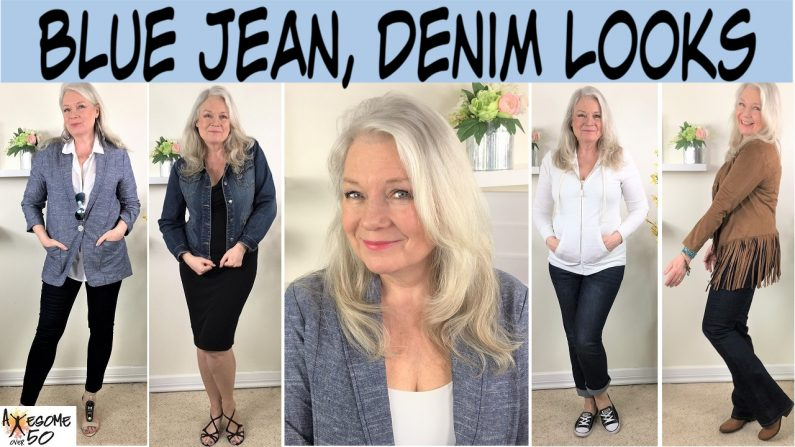 Blue Jeans & Denim Looks