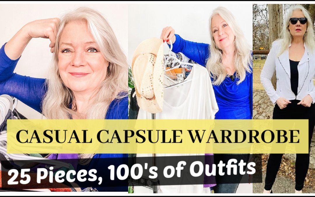 Casual Styles, Capsule Wardrobe (25 Pieces)