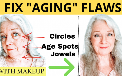 Hide Your Aging Flaws With Makeup
