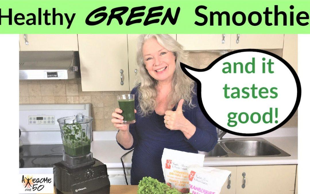 Green & Fruit Smoothies that Taste Good