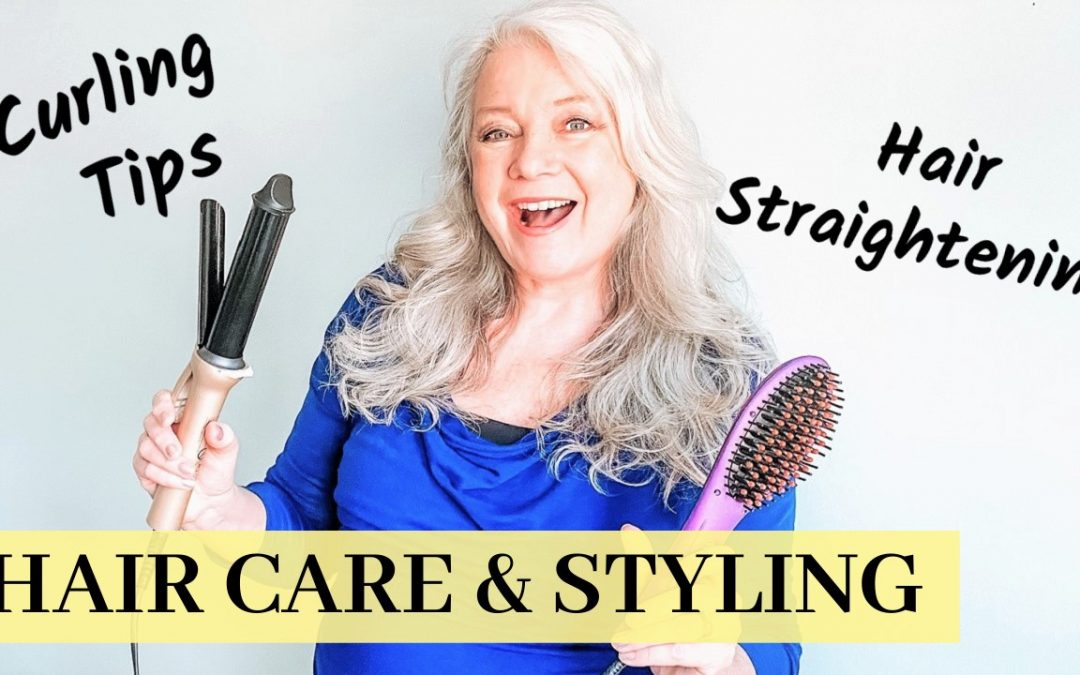 Hair Styling… Curling Iron, Straightener & De-Frizzing