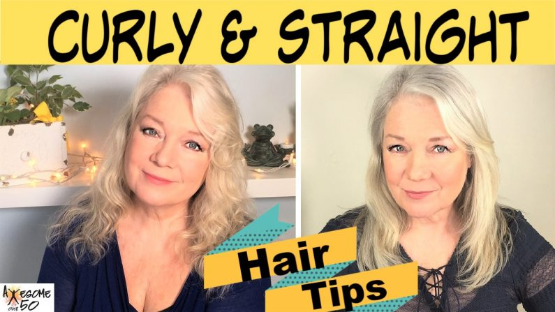Curly and Straightening Hair Tips