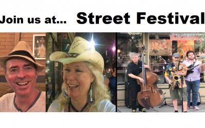Join us as we Enjoy a Street Festival!