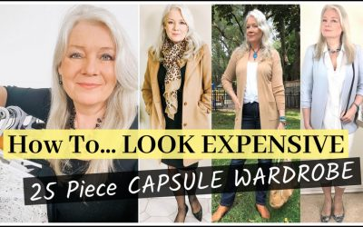 Look Expensive Styles (25 Items in a Capsule Wardrobe)