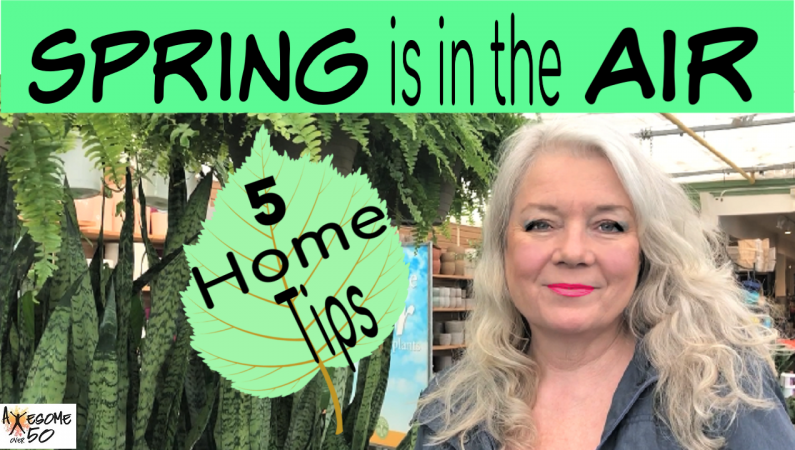 'Spring'ing Up Your Home, 5 Tips