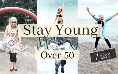 Stay Young Over 50 ( 7 Tips for Mature Women )