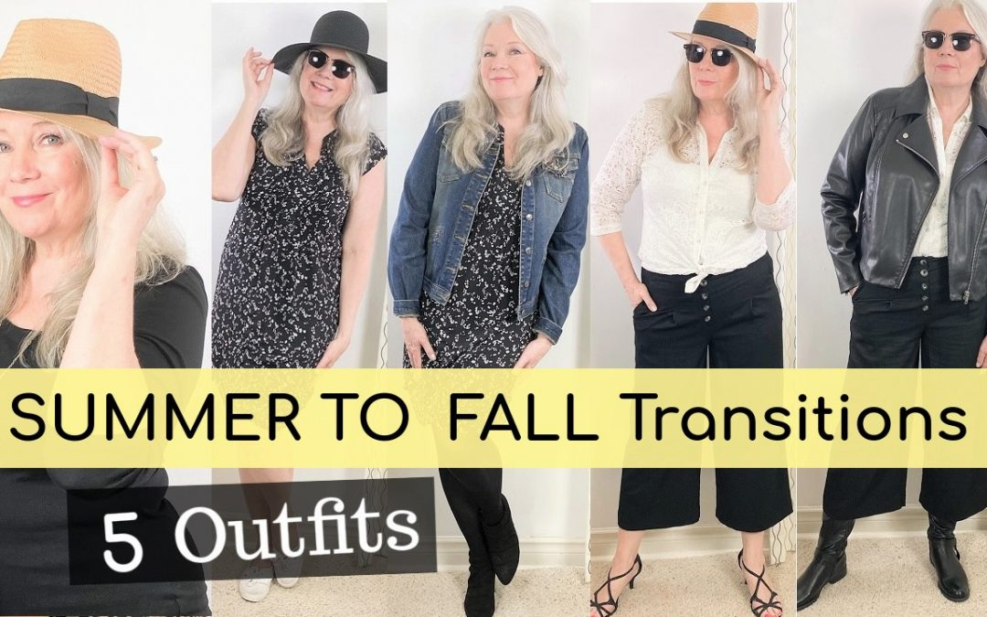 Summer to Fall Fashion Transitioning