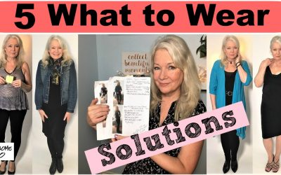 """5 """"What to Wear?"""" Solutions in Women's Fashion & Style"""