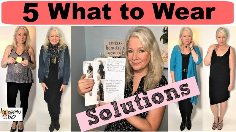 "5 ""What to Wear?"" Solutions in Women's Fashion & Style"