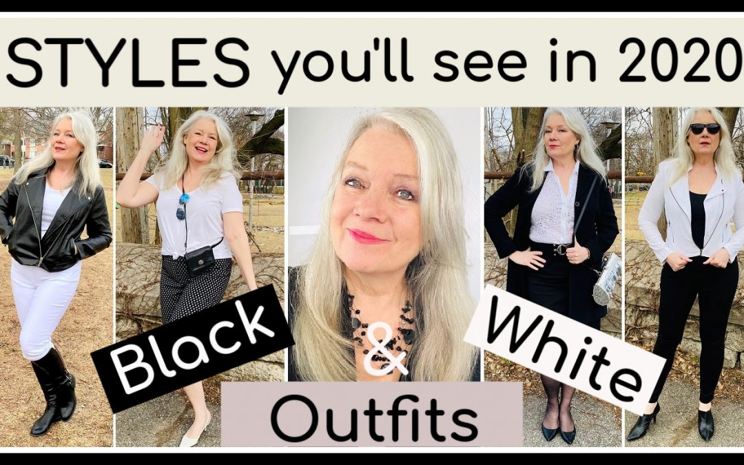 Black & White Outfits are Trending